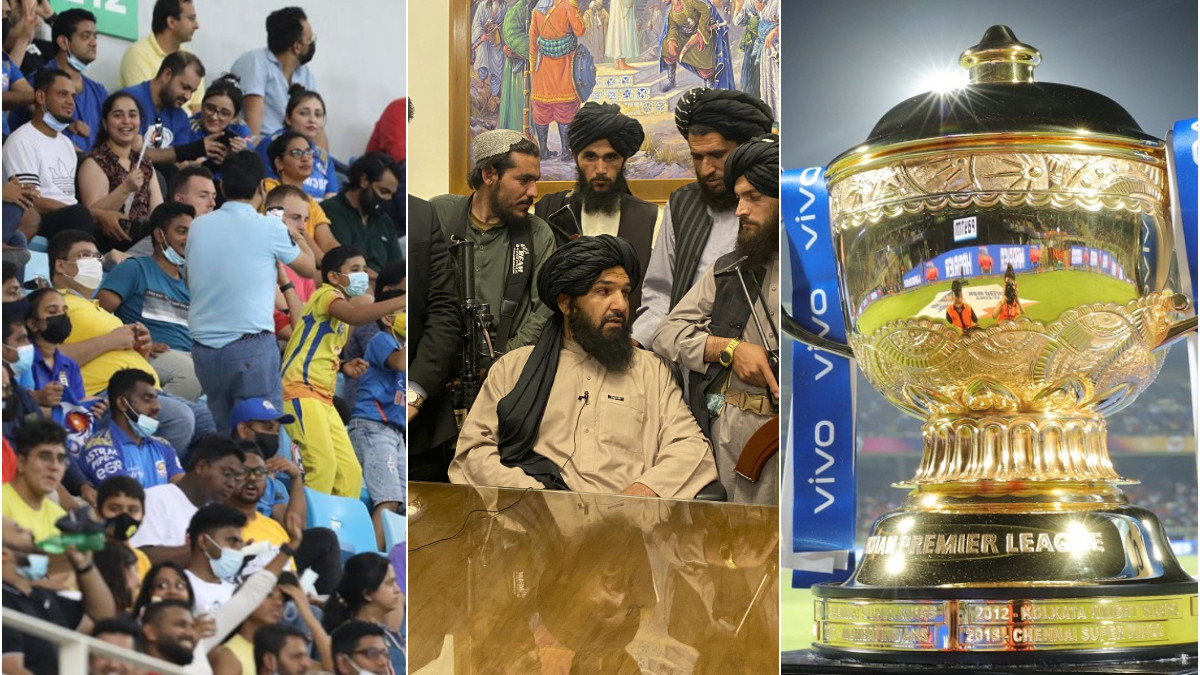 Taliban bans broadcast of IPL 2021 in Afghanistan citing presence of female spectators