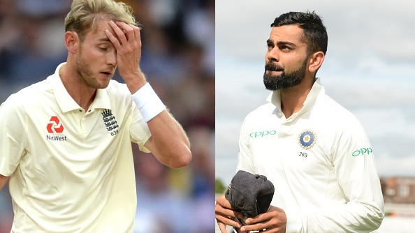ENG v IND 2018: WATCH- Virat Kohli has a word with Stuart Broad after his send-off to Rishabh Pant