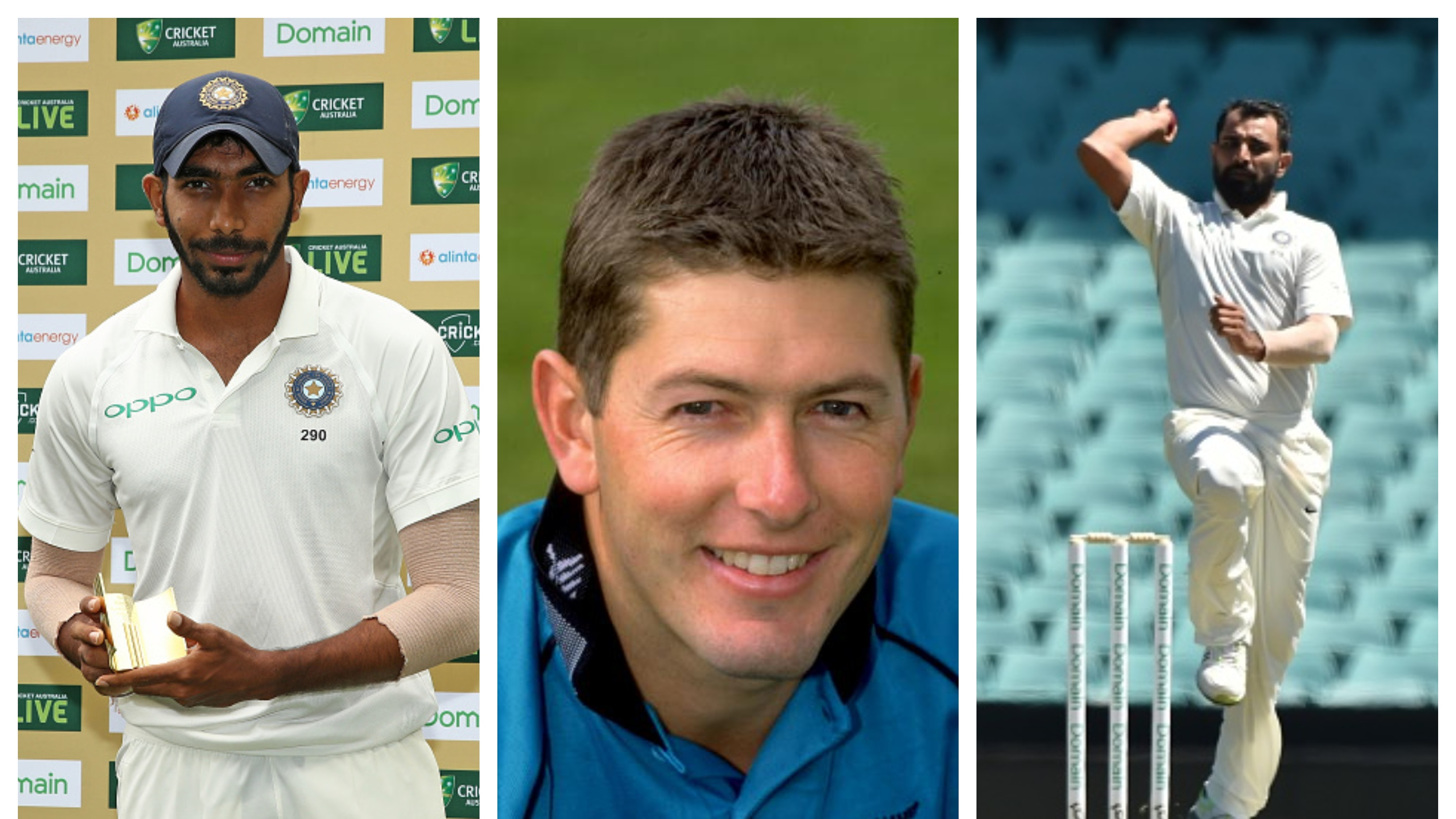 Geoff Allott in praise of Jasprit Bumrah and Mohammad Shami