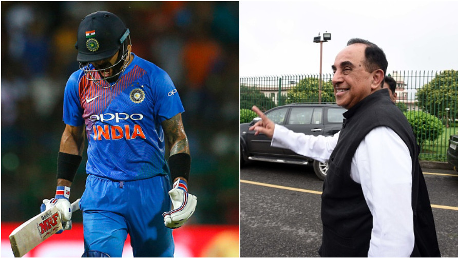 Virat Kohli finds support from BJP MP Dr Subramanian Swamy, amidst heavy criticism