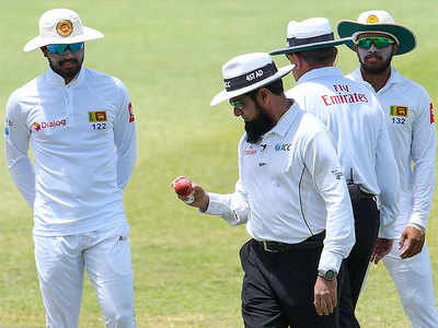 Chandimal refused to take the field in West Indies after being alleged of altering condition of the ball. (AFP)