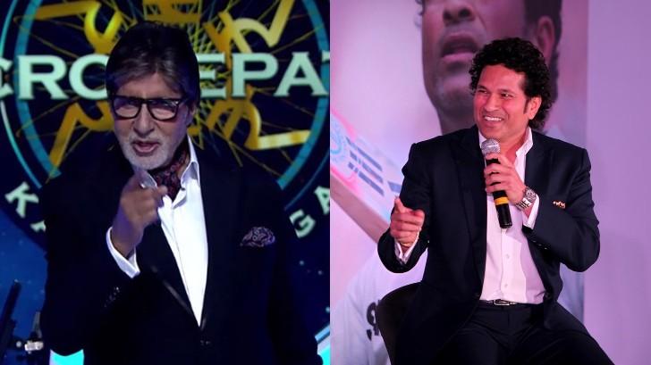 Sachin Tendulkar thanks Amitabh Bachchan after getting praised by the legendary actor on KBC