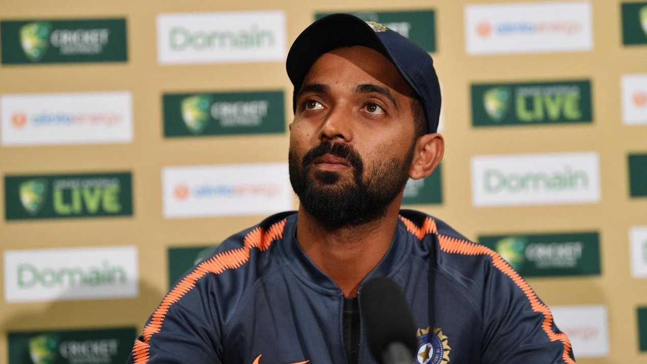 AUS v IND 2018-19: Australia still favourites to lift the trophy, says Ajinkya Rahane
