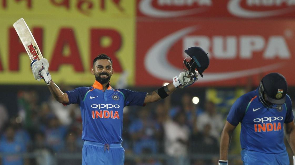 IND v WI 2018: Stats- List of records made by Virat Kohli during his knock of 140 runs