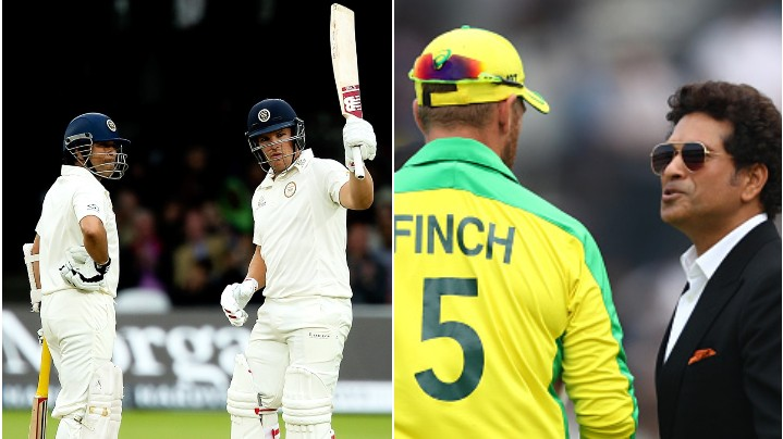 Aaron Finch shares his feeling from first meeting to opening with Sachin Tendulkar