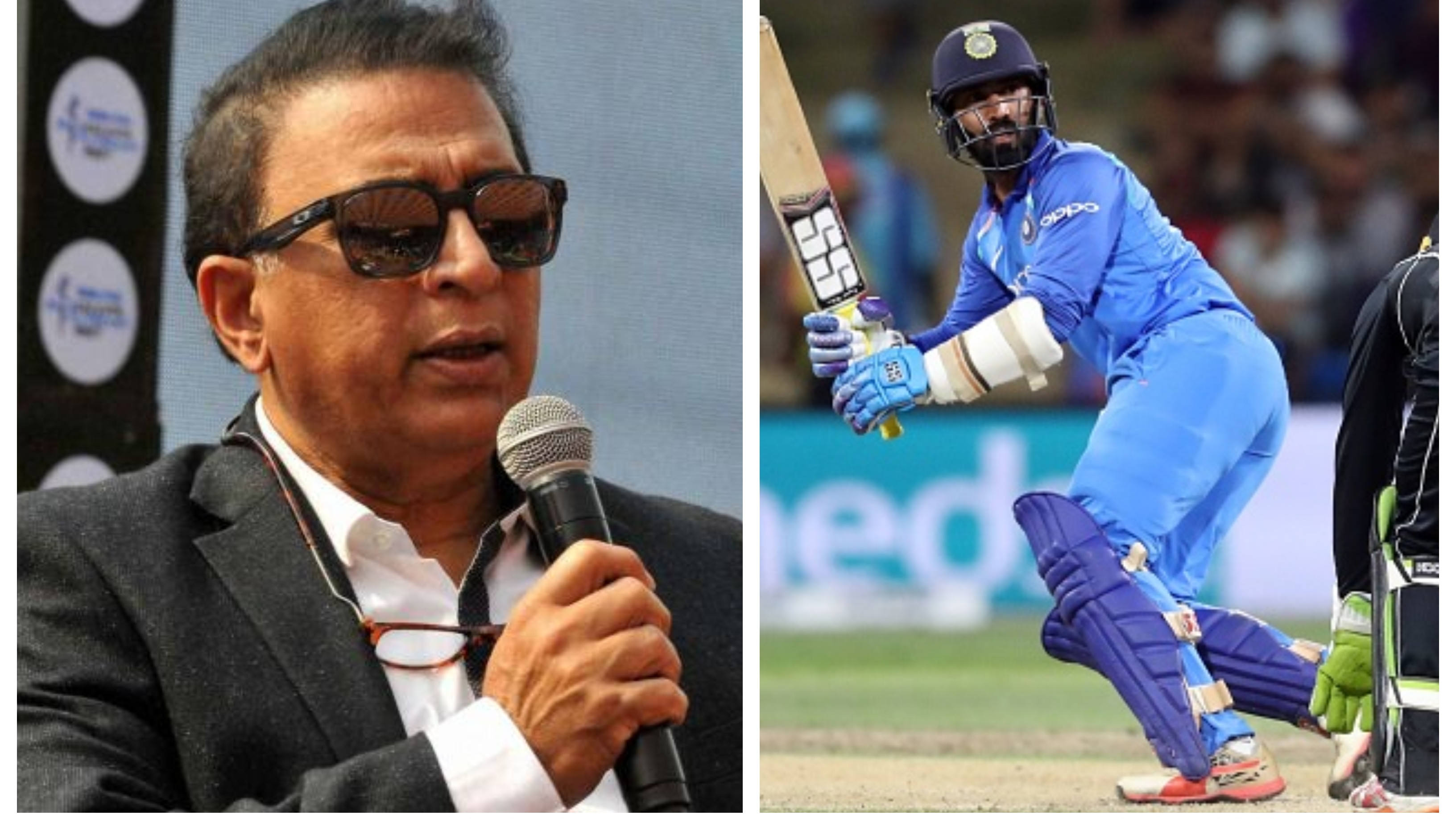 I am looking at Dinesh Karthik as a third opener for World Cup 2019, says Gavaskar