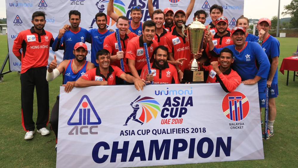Asia Cup 2018: Hong Kong beats UAE by 2 wickets to secure the spot in the main draw