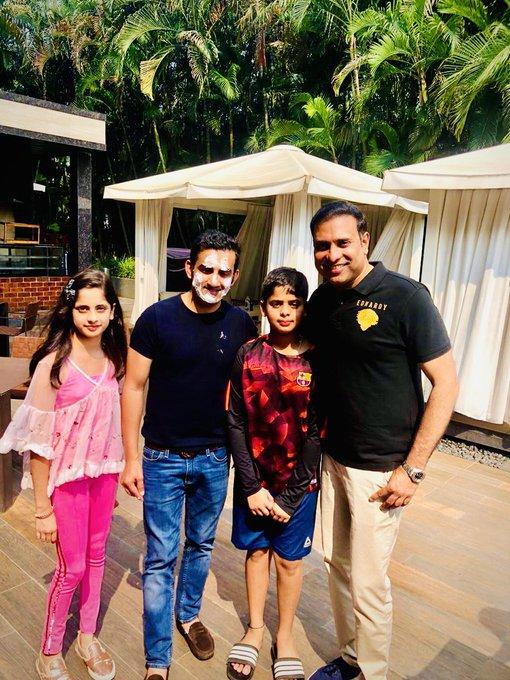 Gautam Gambhir with VVS Laxman | Twitter