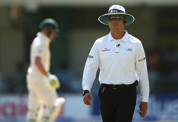 Richard Kettleborough will officiate BAN-WI Tests | Getty Images