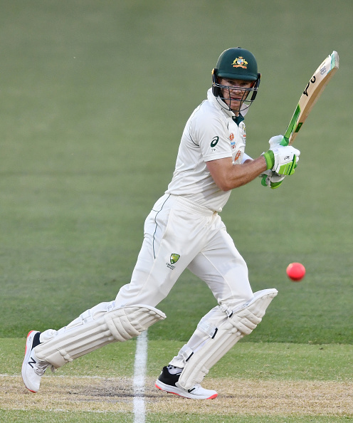 Tim Paine made a valiant 73* for Australia   Getty