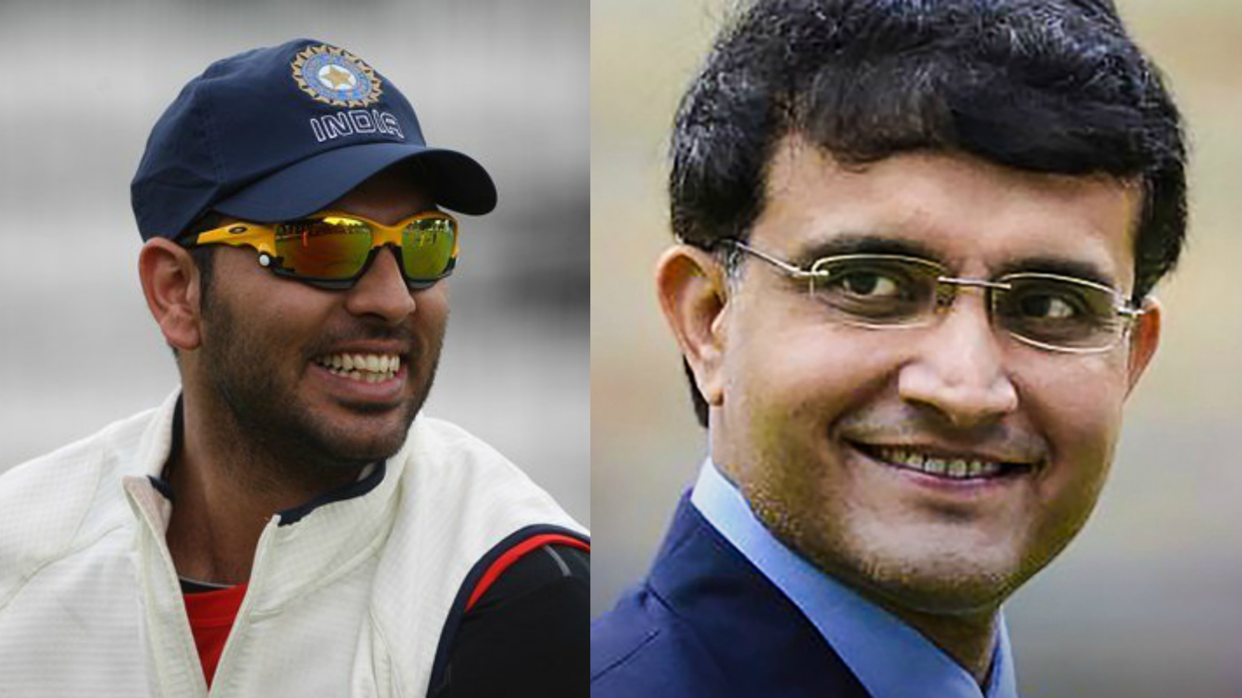 Yuvraj Singh trolls Sourav Ganguly on nostalgia post; asks the BCCI President
