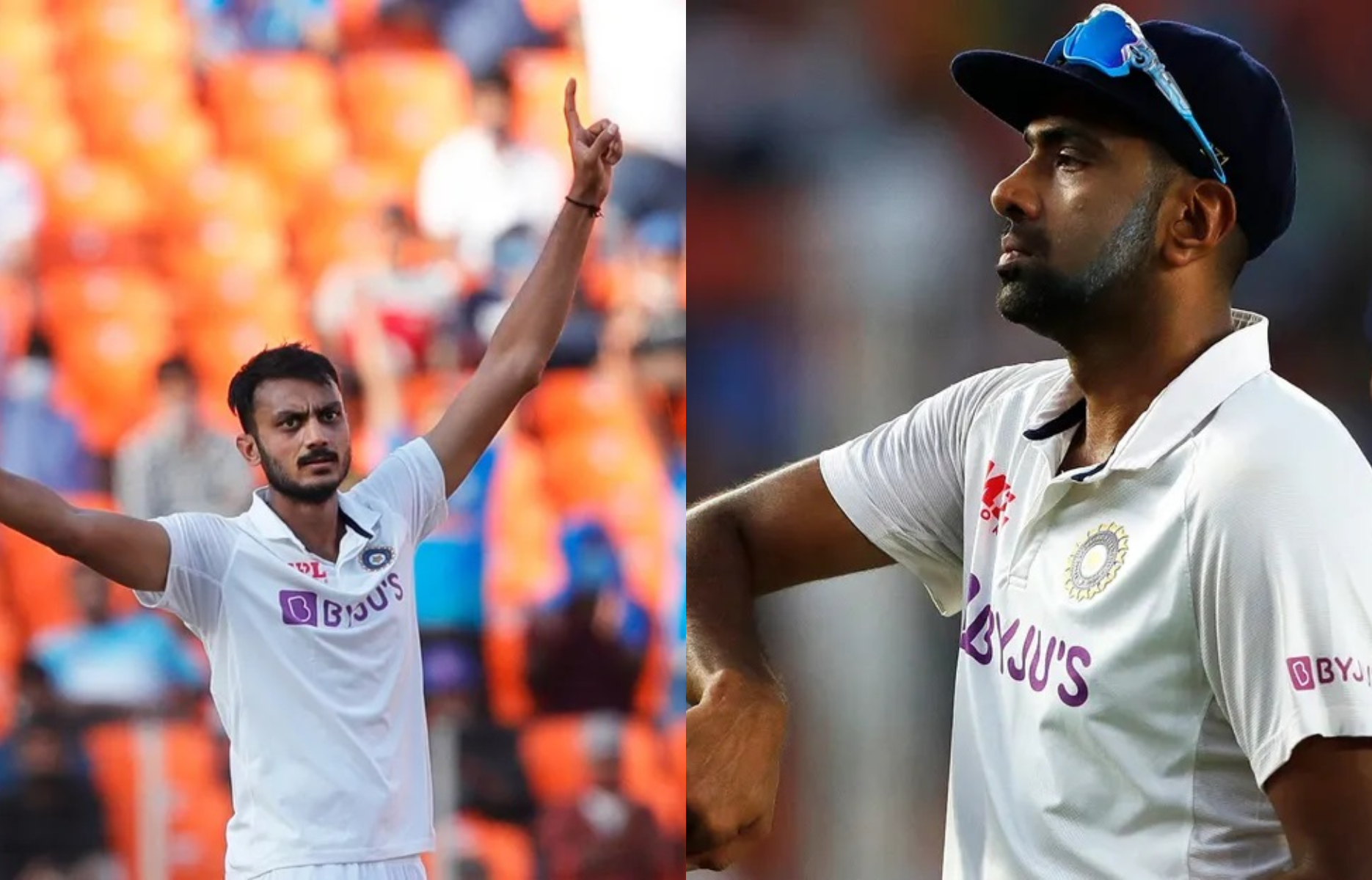 Akshar picked 11 and Ashwin picked 7 wickets in the 3rd Test in Ahmedabad | BCCI