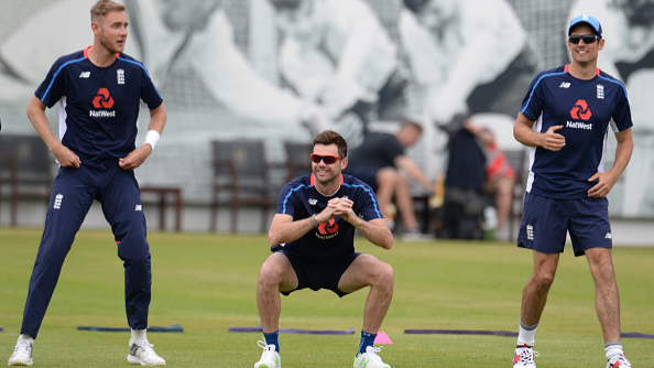WATCH: England cricketer James Anderson and Alastair Cook takes the Yo-Yo Test