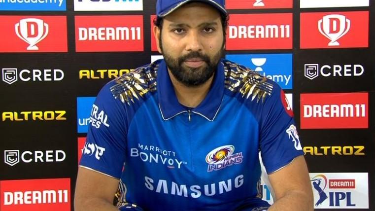 IPL 2020: Rohit Sharma hails MI's