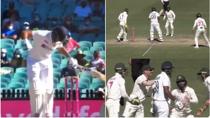AUS v IND 2020-21: WATCH - Matthew Wade resorts to cheap tactics to disturb Indian batsmen