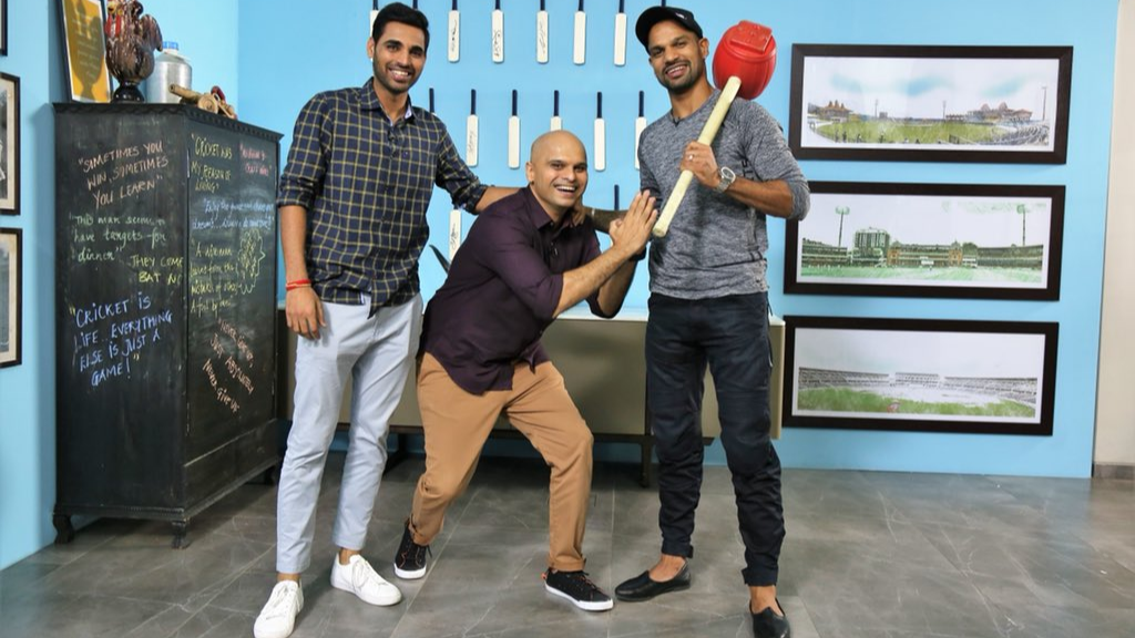 WATCH: Bhuvneshwar Kumar reveals the 'Relationship Guru' side of Shikhar Dhawan