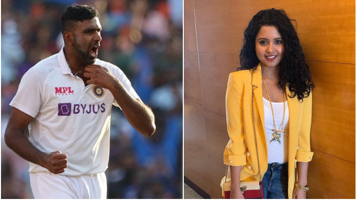 IND v ENG 2021: Prithi Narayanan reacts to husband R Ashwin's 400th Test wicket on Twitter
