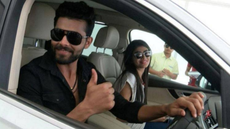Ravindra Jadeja's wife Rivaba assaulted by a policeman