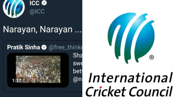 ICC's official Twitter account tweeted on Indian politics, gets criticized by Twitteratis