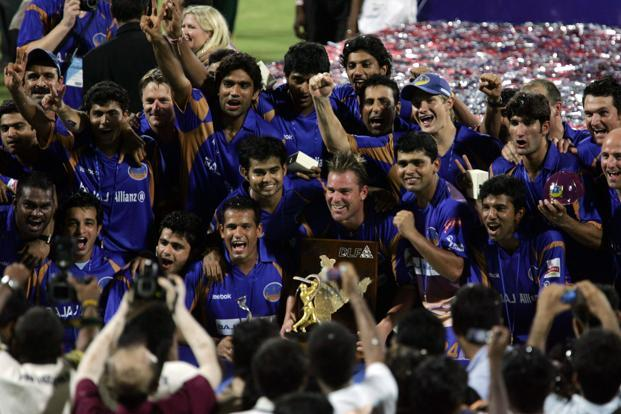 Shane Warne led the Rajasthan Royals to the IPL title win in 2008 edition
