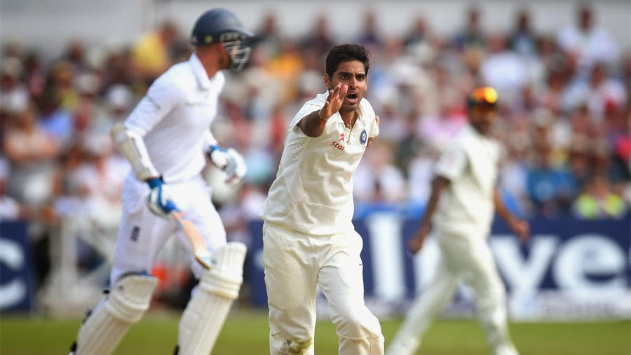 Bhuvneshwar Kumar was amazing with both bat and ball against England in 2014 tour | Getty