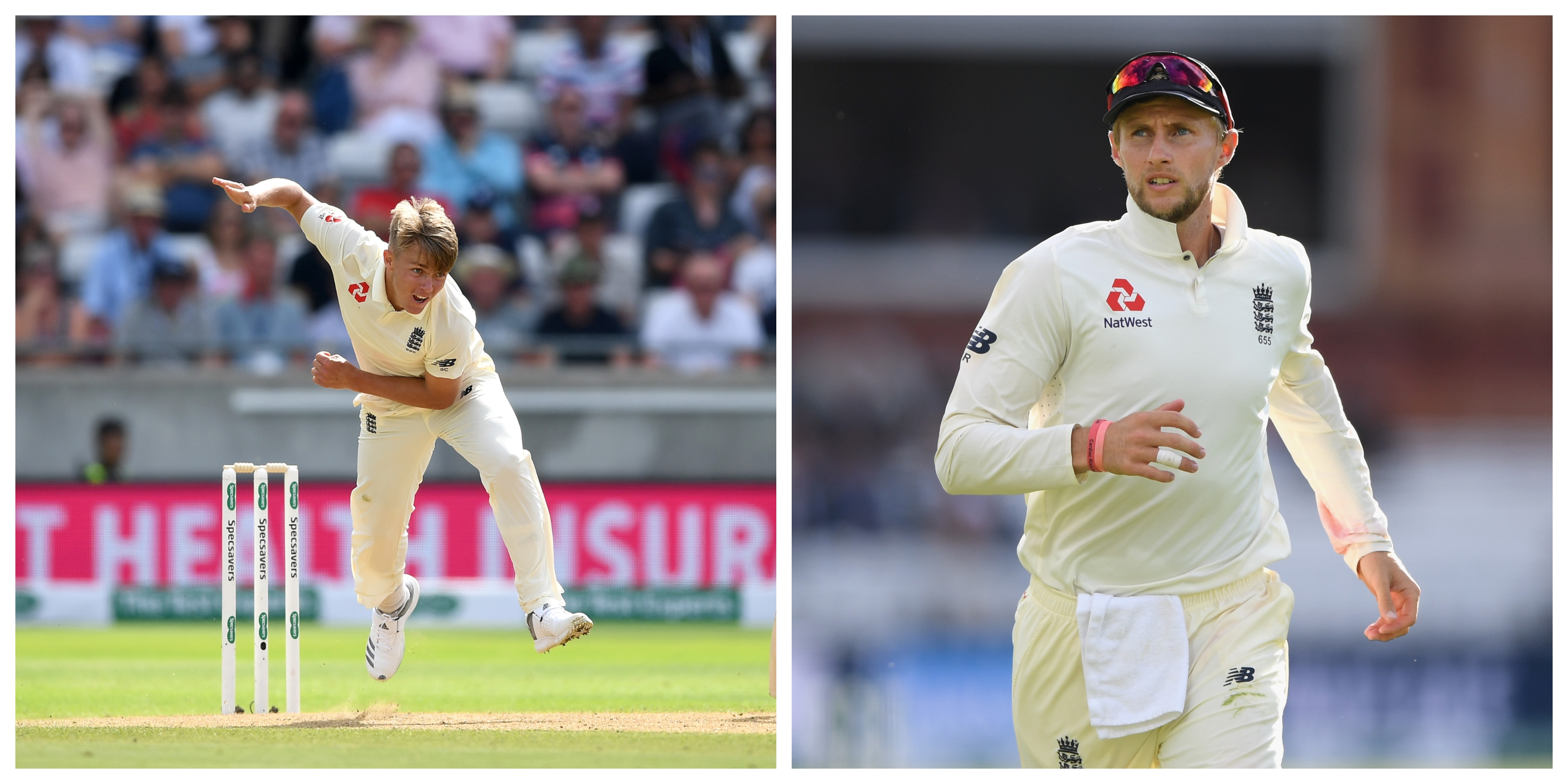 Root had to leave young Sam Curran for the third Test. (Getty)