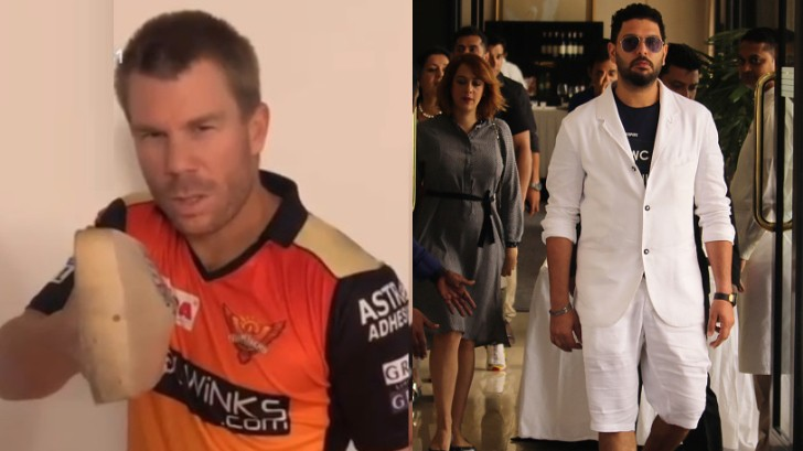 IPL 2020: David Warner launches his YouTube channel; gets roasted by Yuvraj Singh