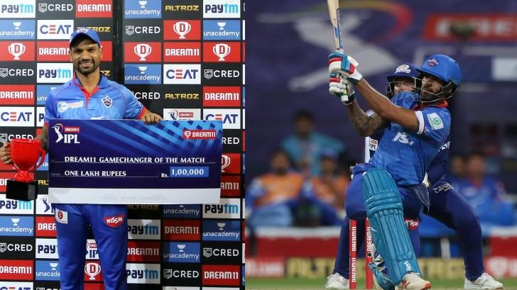 IPL 2020: Twitterati surprised at Shikhar Dhawan getting 'Gamechanger' award despite DC's loss