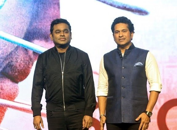 Sachin Tendulkar's heartfelt birthday wish for the music maestro AR Rahman