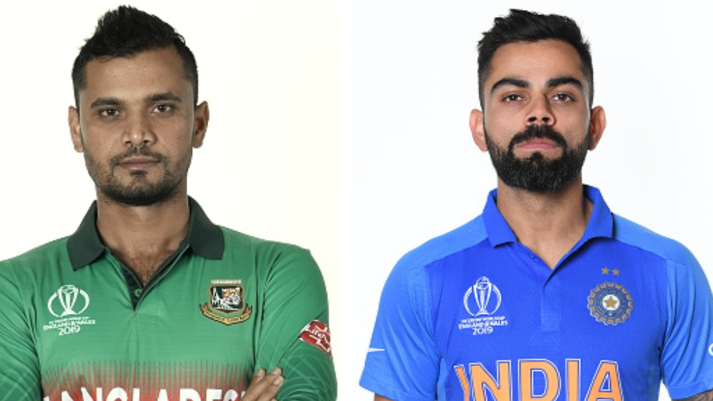 CWC 2019: Fantasy Prediction Match 40, BAN vs IND