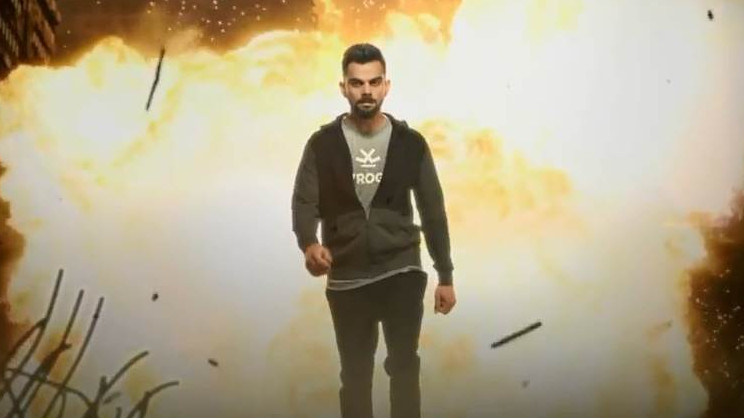 Virat Kohli launches the trailer of his short film as a brand promotion for his clothing apparel