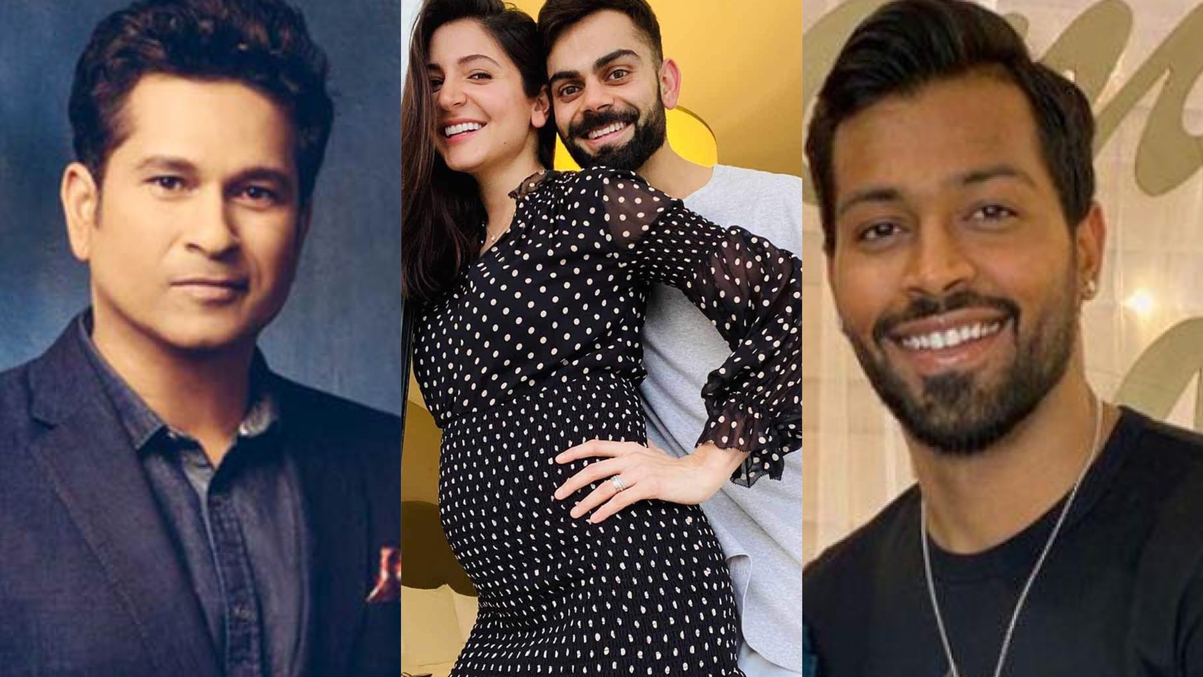Virat Kohli and Anushka Sharma welcomed to parenting by the Indian cricket fraternity