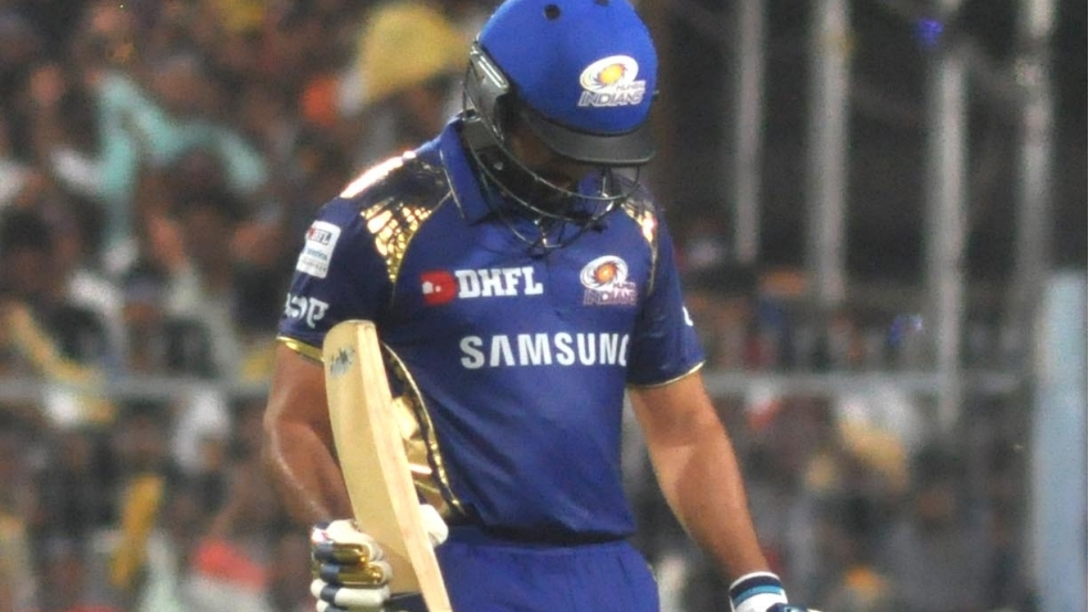 IPL 2018: Rohit Sharma roasted by Twitterati after another 'Golden Duck'