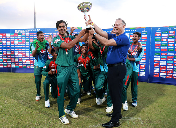Bangladesh lifted its maiden U-19 World Cup title | Getty
