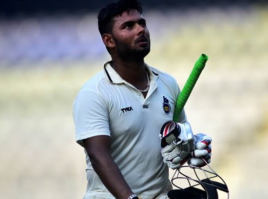 DDCA removes Rishabh Pant as Delhi's captain
