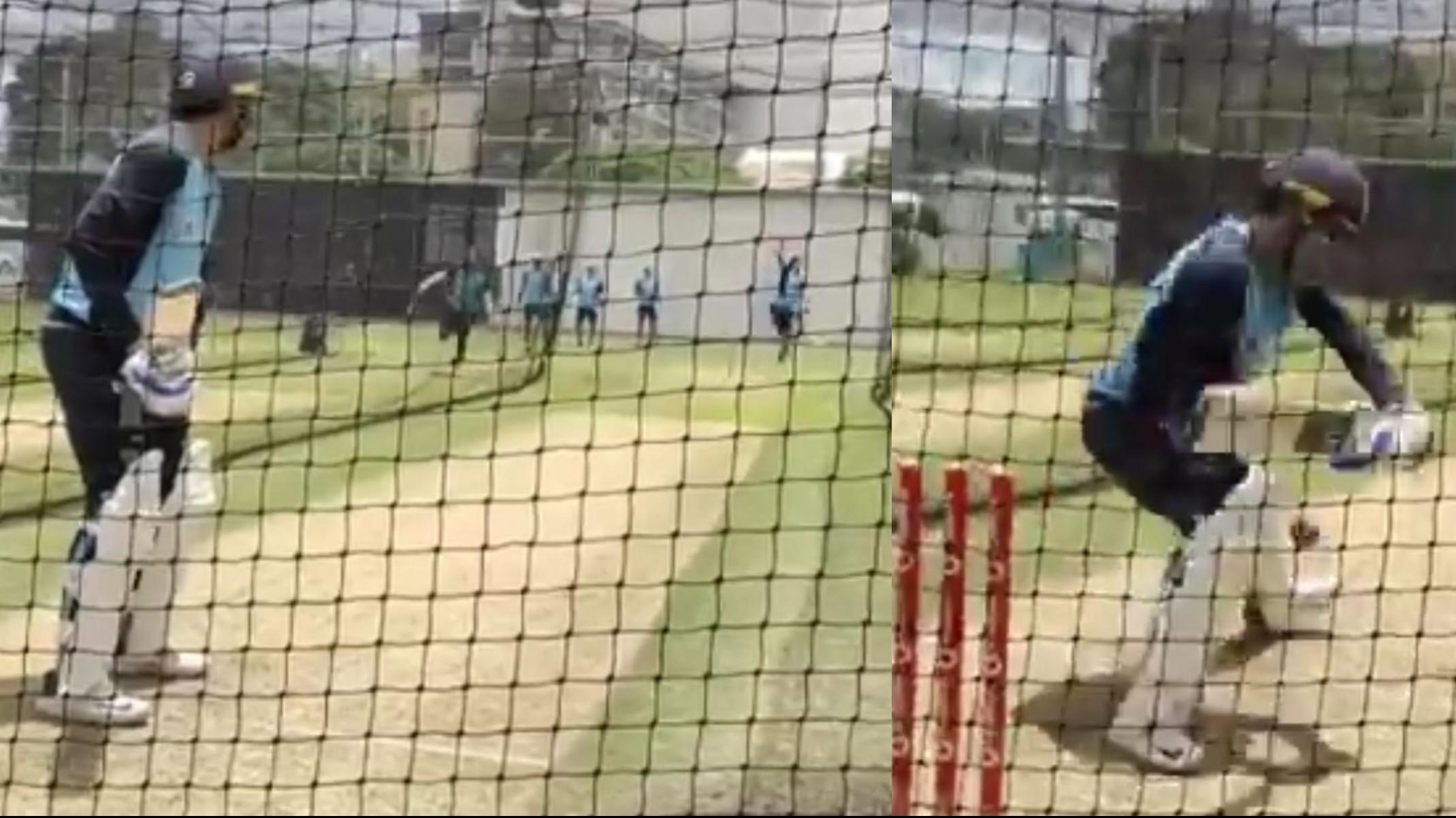 AUS v IND 2020-21: WATCH- Kuldeep Yadav bamboozles Shubman Gill in nets before the Gabba Test
