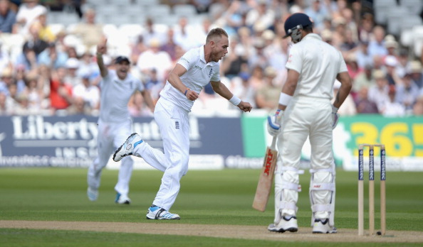 Virat Kohli gets dismissed by Stuart Broad | GETTY