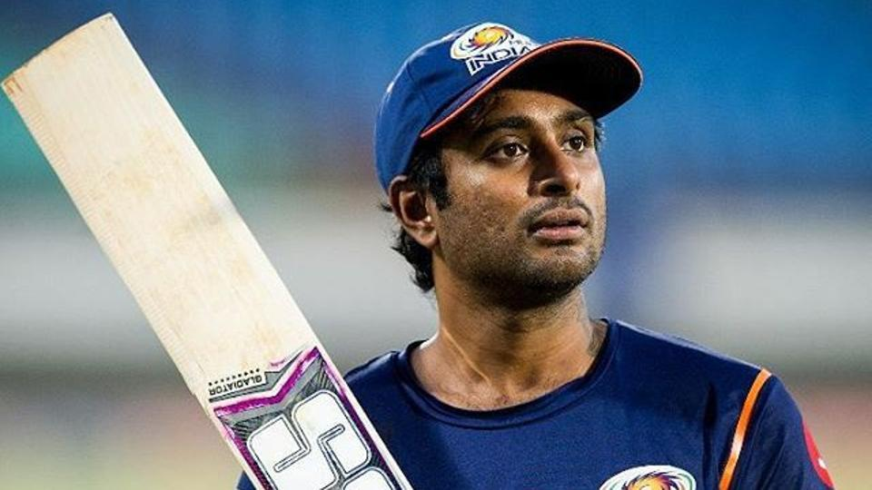 Ambati Rayudu was involved in a mid picth fight with R Vinay Kumar