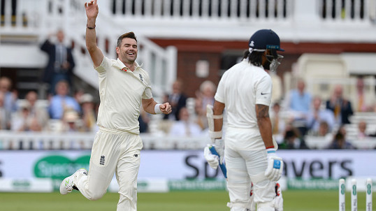 ENG v IND 2018: Twitter goes into a tizzy as James Anderson's 5/20 routs India for 107 all out
