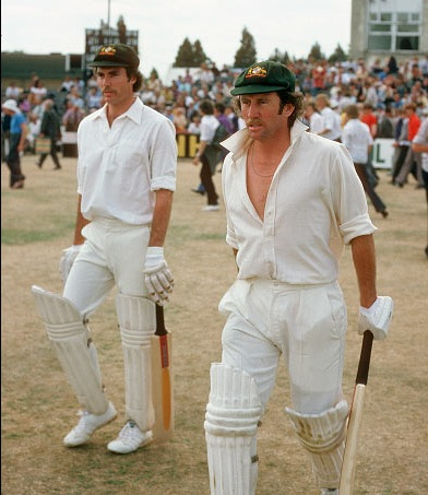 Greg (L) and Ian (R) Chappell brothers