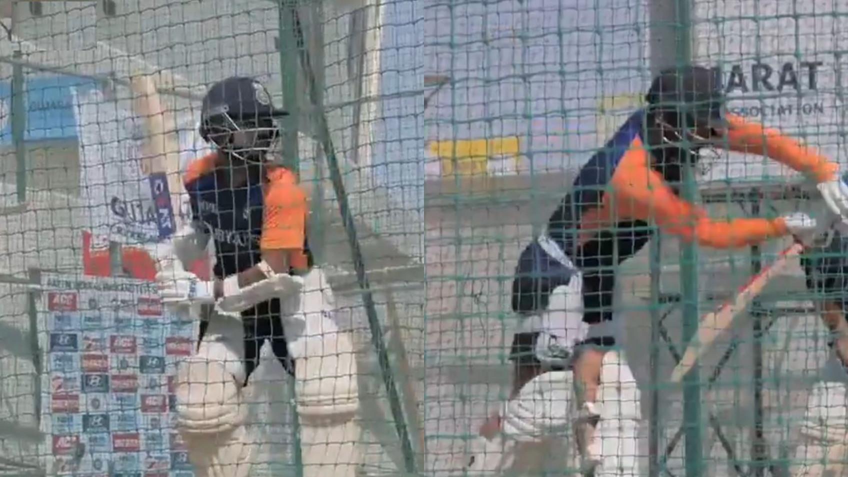 IND v ENG 2021: WATCH- BCCI shares video of Virat Kohli, Ajinkya Rahane and team India's net session
