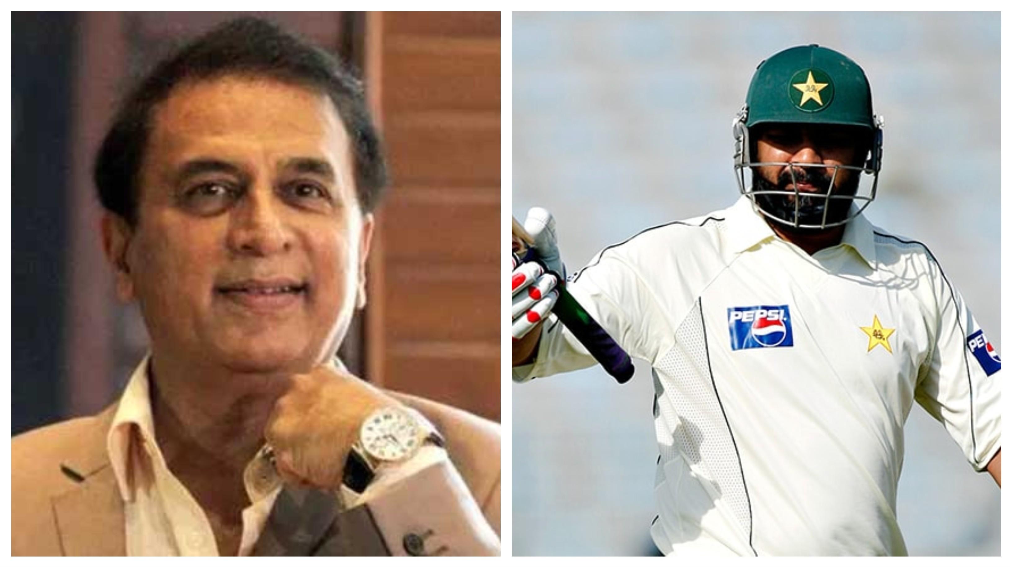 Inzamam-ul-Haq reveals how Sunil Gavaskar's advice helped him overcome the short-ball threat