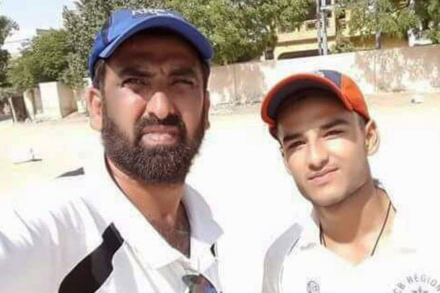 Pakistan U19 cricketer Mohammad Zaryab . (Twitter)