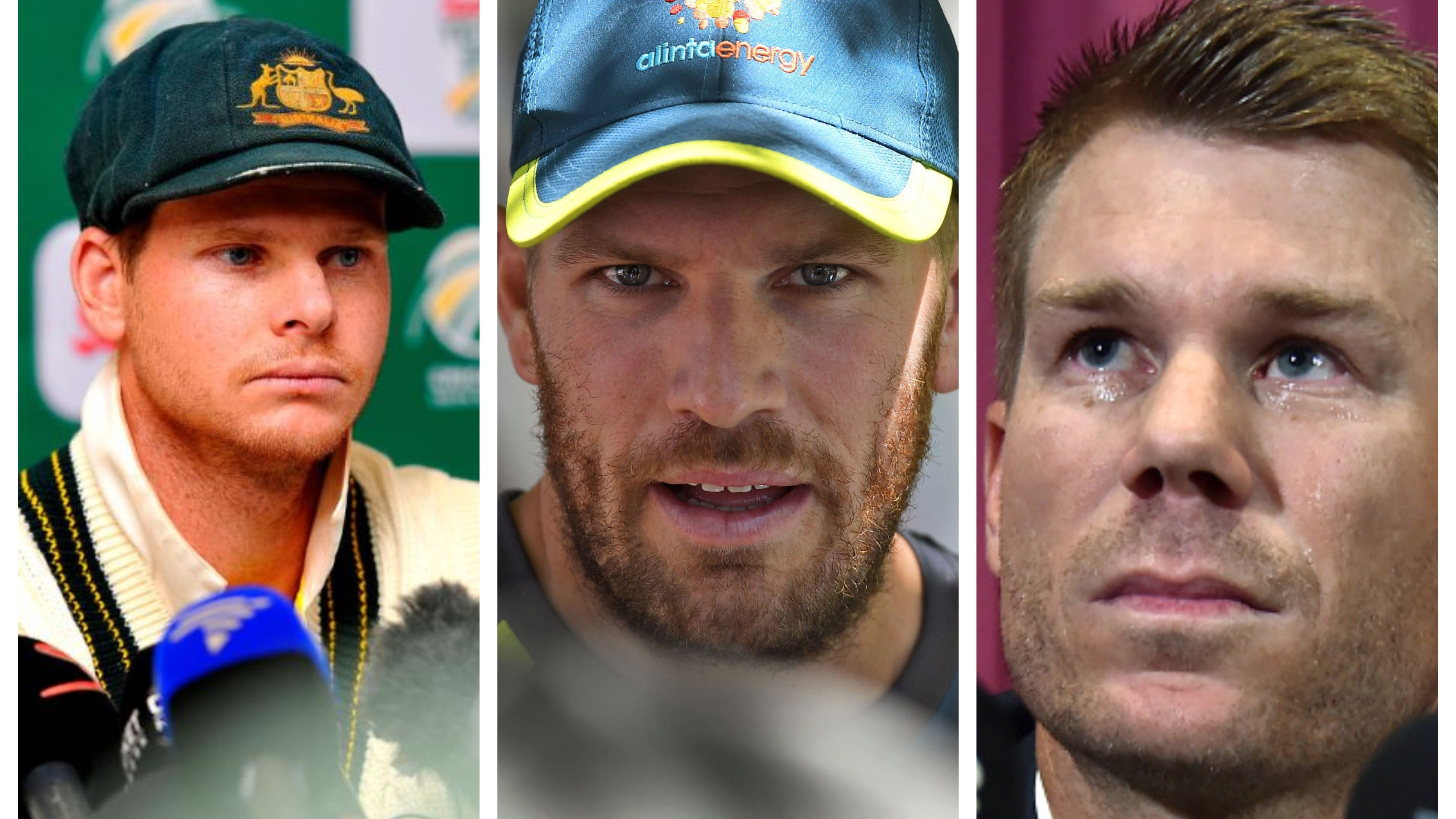 Ball tampering trio will be