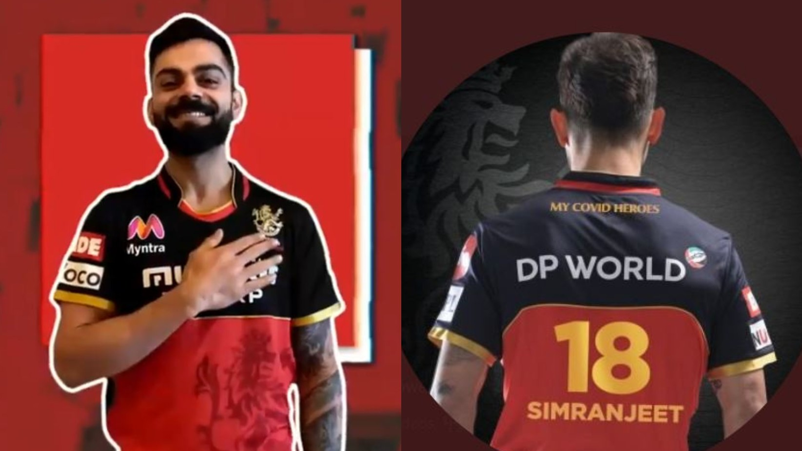 IPL 2020: Virat Kohli and RCB players to wear jerseys with Corona warriors' names to pay tribute