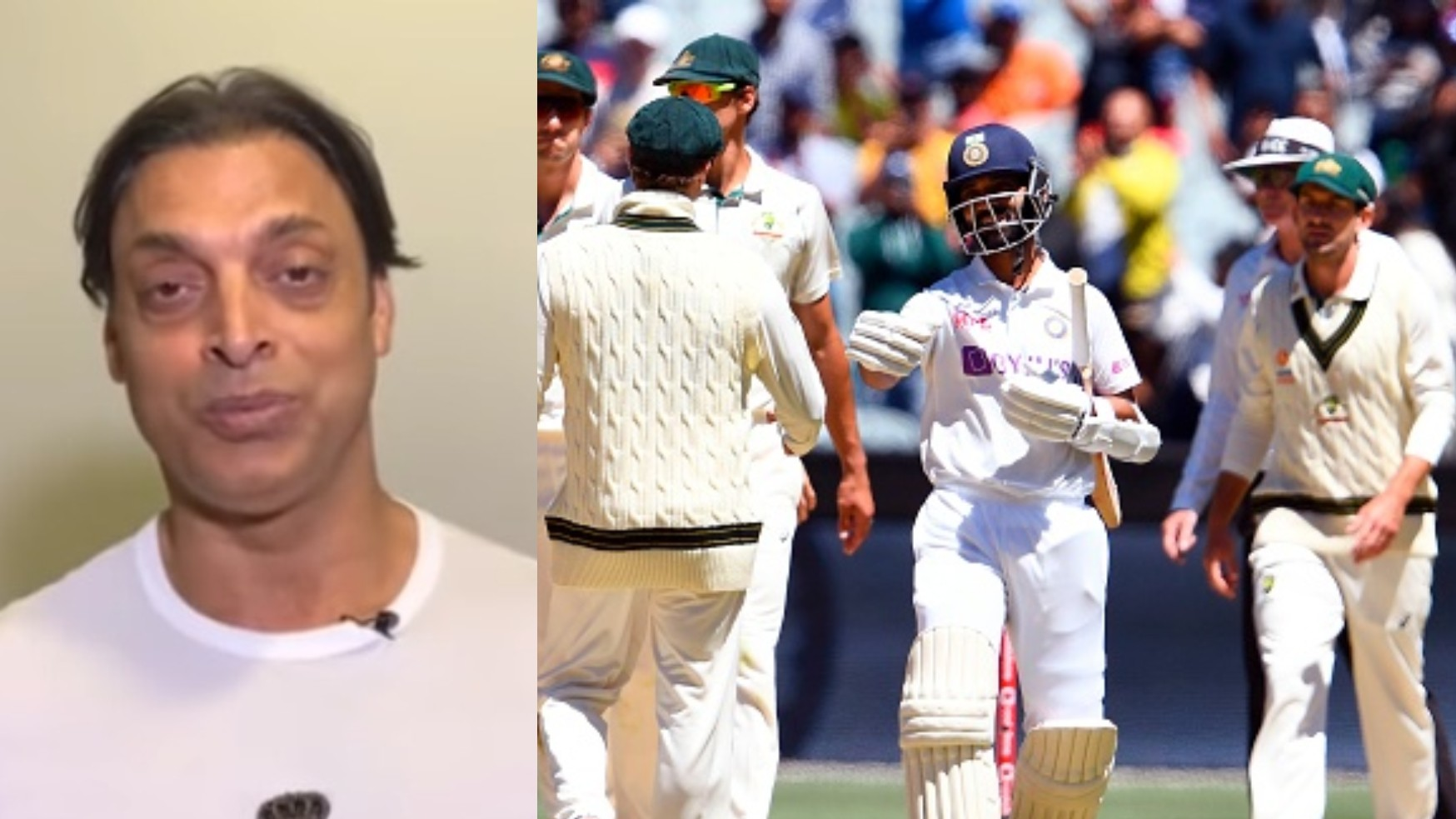 "AUS v IND 2020-21: WATCH- ""Team showed great character under deep crisis,"" Shoaib Akhtar lauds India's MCG Test win"