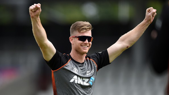CWC 2019: Jimmy Neesham gives a fan a funny retort who advised him to concentrate on World Cup final