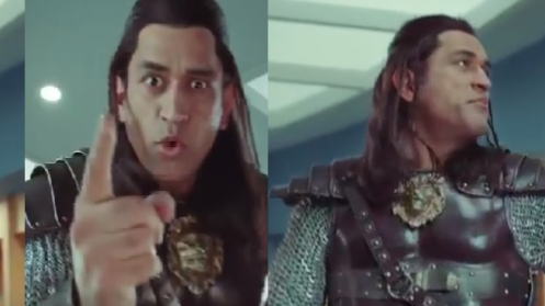 WATCH: MS Dhoni is back with his long hair!