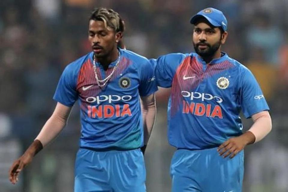 Rohit Sharma and Hardik Pandya were picked by Azam
