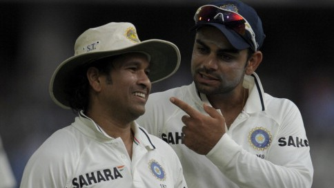 Virat Kohli sends birthday wishes to his idol Sachin Tendulkar